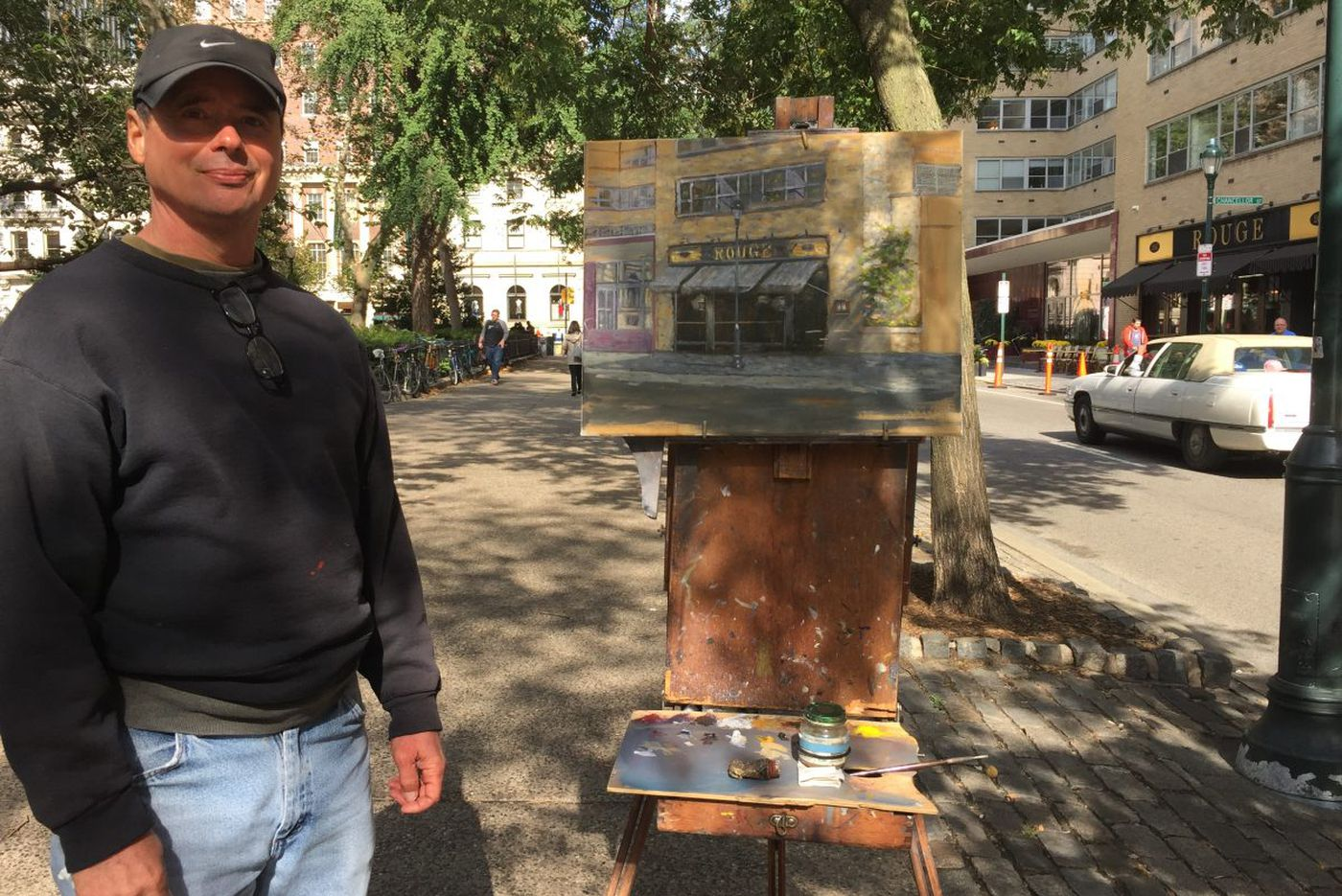 Rittenhouse painter: 'Tough skin' needed to paint outside in Philly   We the People