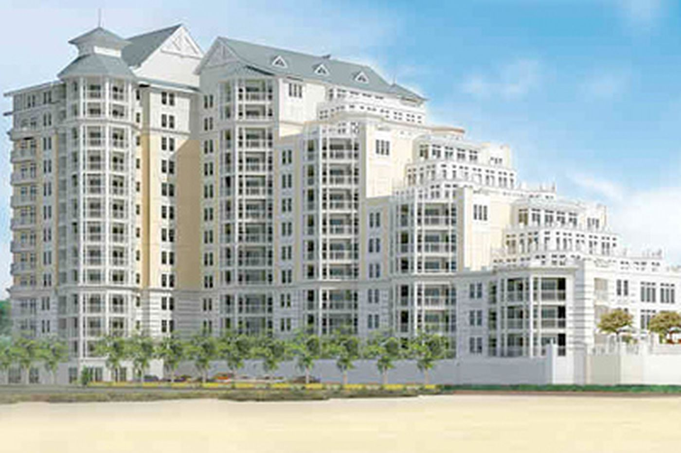 July auction for 18 luxury condo units in Lower Twp.