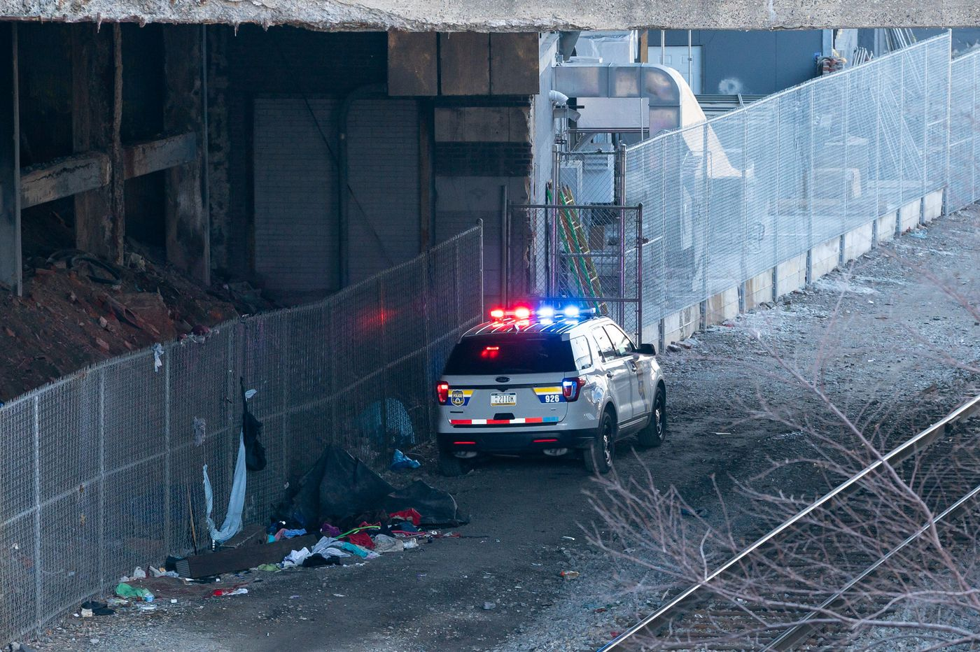 Skeletal remains found near Schuylkill River Trail in Center City