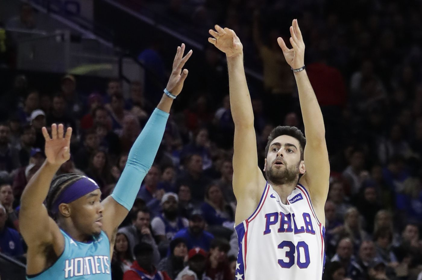 Sixers-Hornets best/worst: Sharp-shooting Furkan Korkmaz, a big rebounding night, and looking to cut down the turnovers