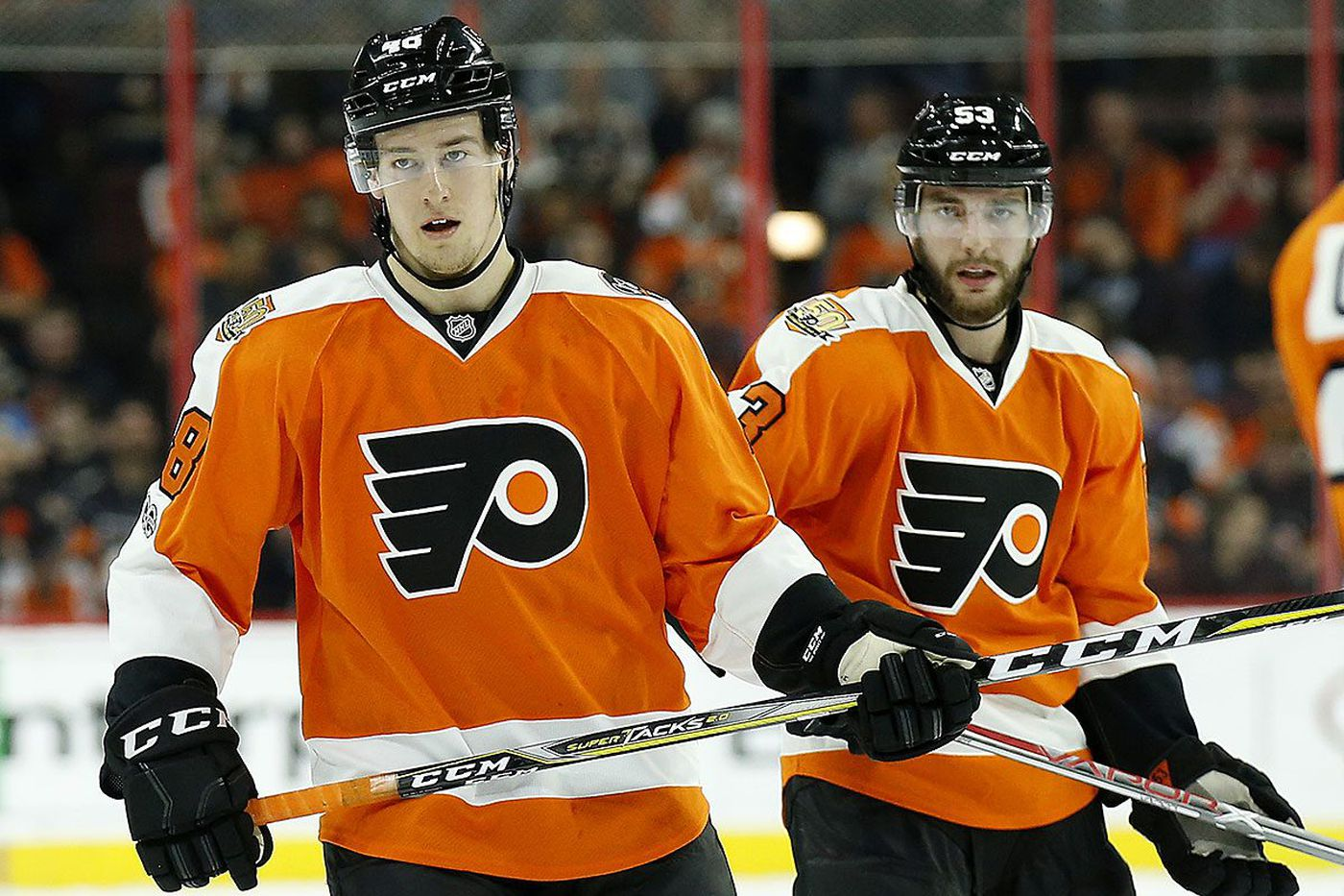 Flyers rookie Robert Hagg helping Shayne Gostisbehere get off to fast start