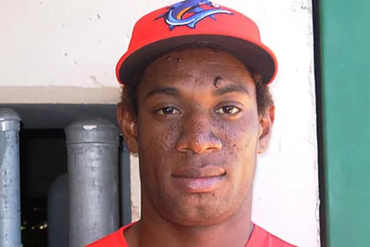 Yohan Flande spent 5 years in the Phillies organization and had jumped through the lower levels. (File photo)