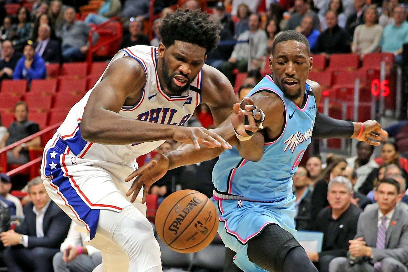 The Sixers' Joel Embiid knows he needs to be better after a historically bad performance. But will his hand allow it? | David Murphy