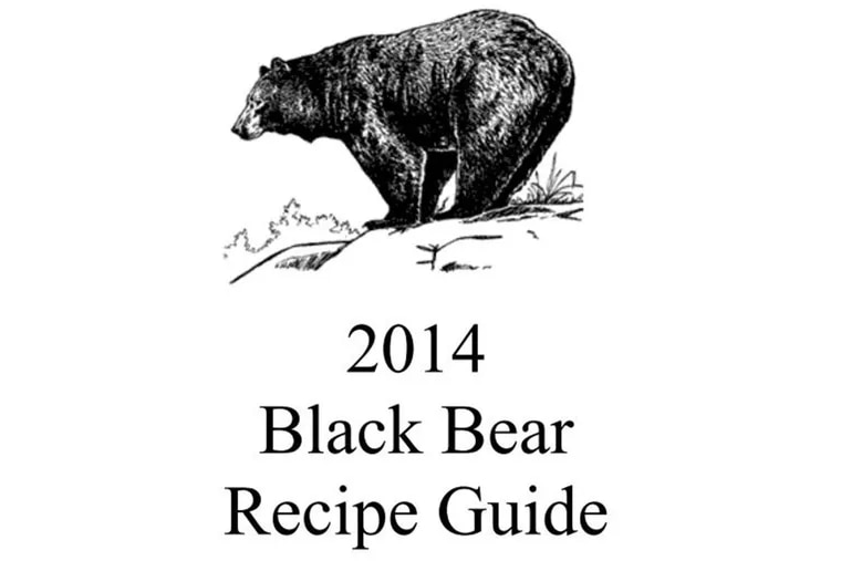 From a recipe book for black bear produced by the  New Jersey Division of Fish & Wildlife.