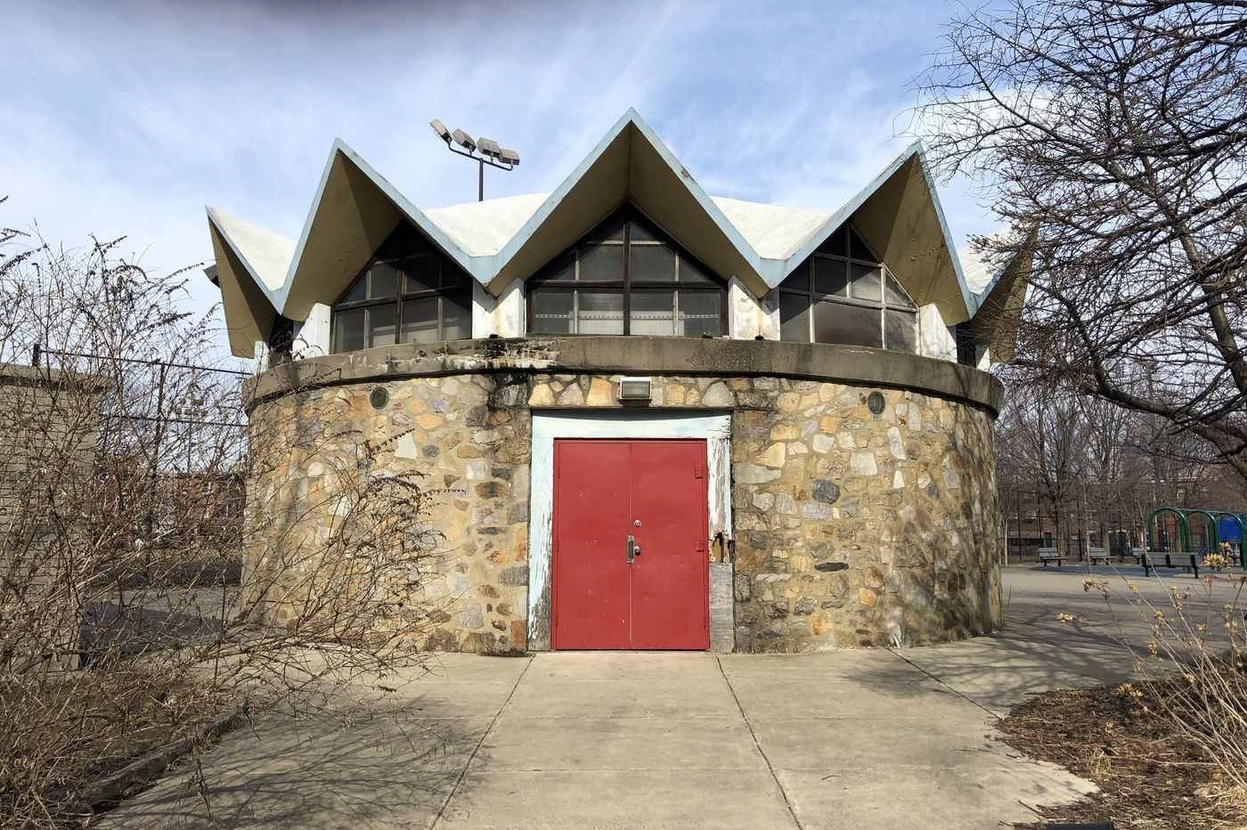 Philly's first licensed female architect built this midcentury modern pavilion in South Philly. Its days are n