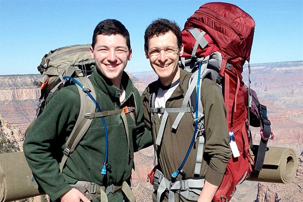 Personal Journey: A great Grand Canyon father-son team