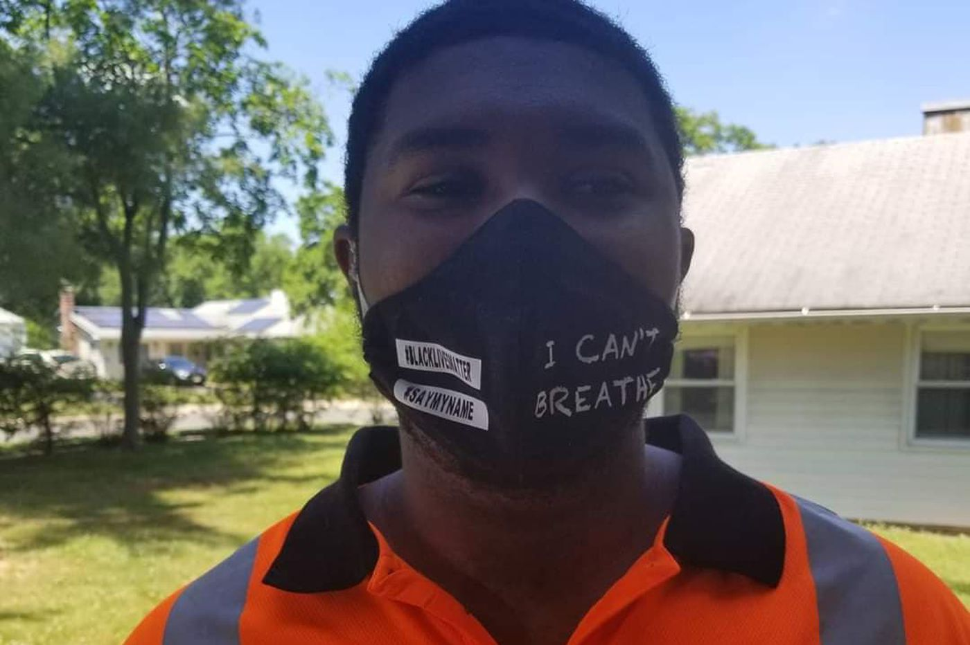 A South Jersey Wawa employee was told to take off his Black Lives Matter mask. He quit, and Wawa is examining its uniform policies.