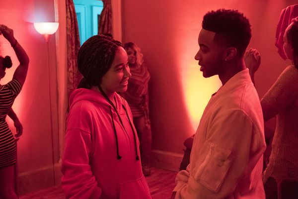 How Tupac Shakur shaped 'The Hate U Give' and its teen star Algee Smith