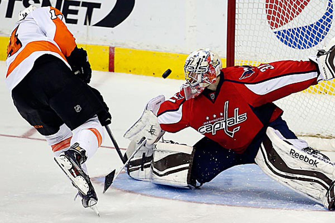 Ovechkin's late goal not only reason Flyers fell to Capitals