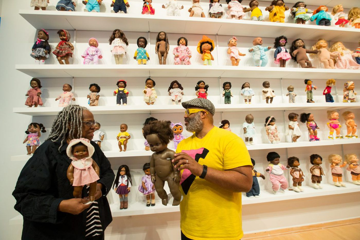 This Temple doll exhibit separates dolls by race, and reminds us that we're all the same | Elizabeth Wellington