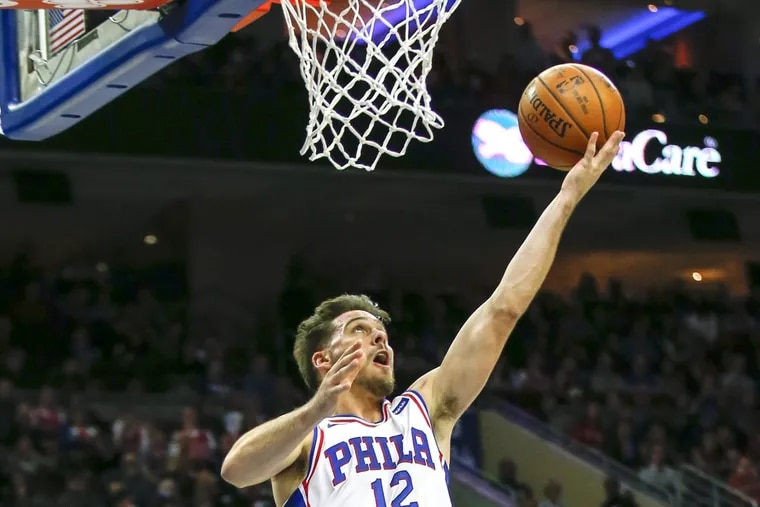 Philadelphia 76ers guard T.J. McConnell, who started in place of Ben Simmons, finished with 15 points, 13 assists, and seven rebounds against the Orlando Magic for his sixth career double-double.