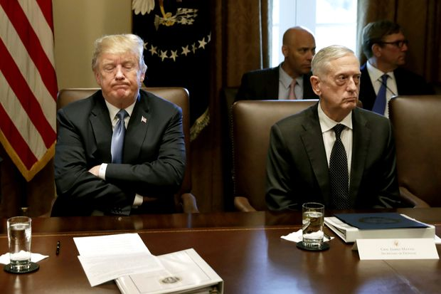 Mattis rejects a president who betrays allies and bows to adversaries | Trudy Rubin