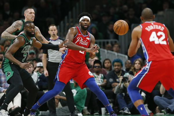Sixers blown out by Celtics, 116-95, miss shot at season sweep as Joel Embiid struggles