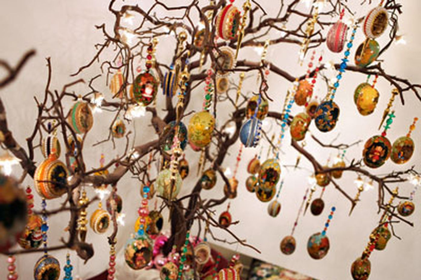 Handmade ornament collection was decades in the making