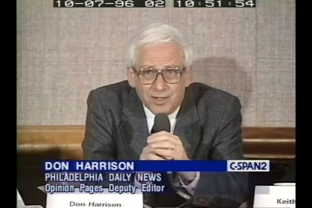 Don Harrison, 90, retired Daily News editor