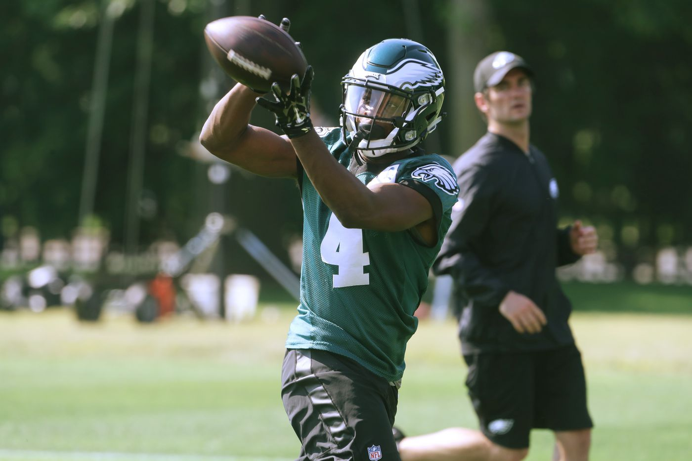 Eagles receiver Greg Ward determined to make 53-man roster