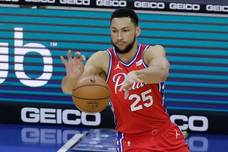 Ben Simmons' camp is in talks with the Sixers to return to the team.