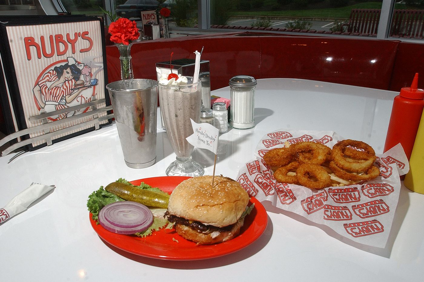 Goodbye, Ruby's Diner at Suburban Square in Ardmore
