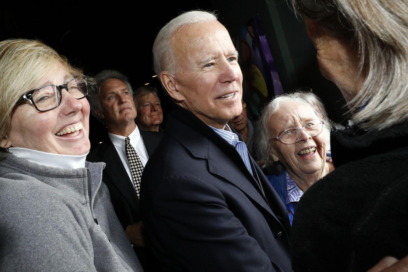Poll: In Pennsylvania, Joe Biden has a big lead on Democrats — and on Trump