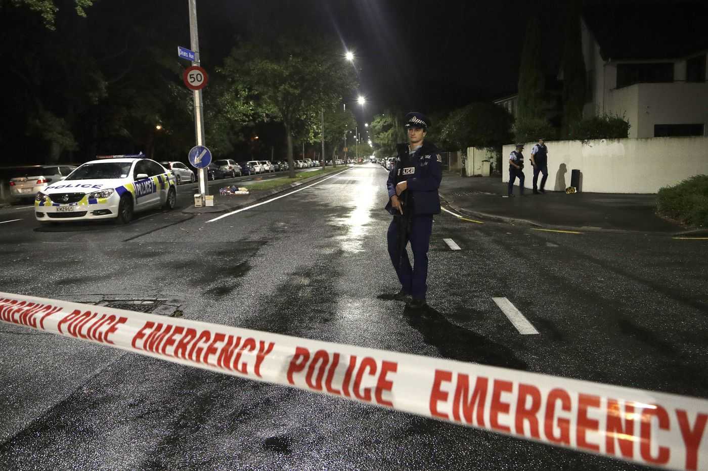 Mass shootings at New Zealand mosques kill 49; racist manifesto found