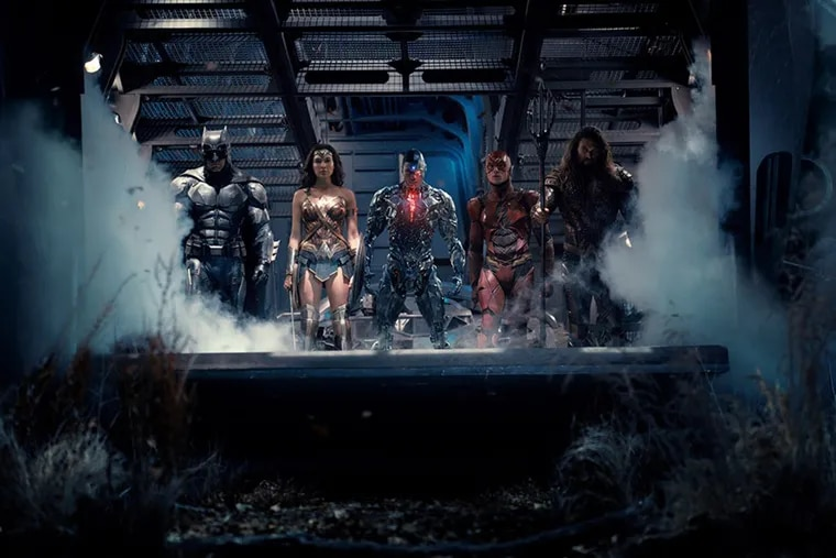 Ray Fisher in 'Justice League.'