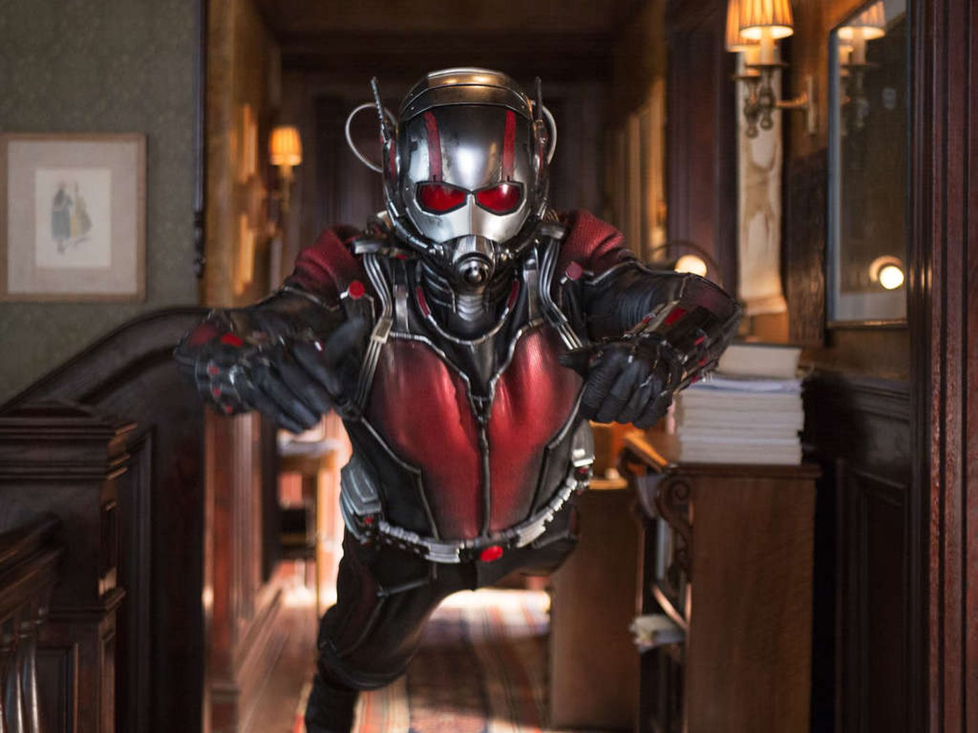 Paul Rudd as Scott Lang in Ant-Man.
