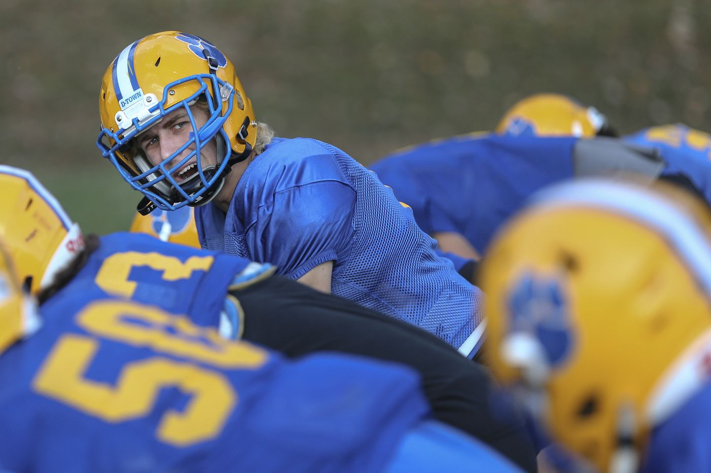 Drew Person picks his spots for Downingtown East football team