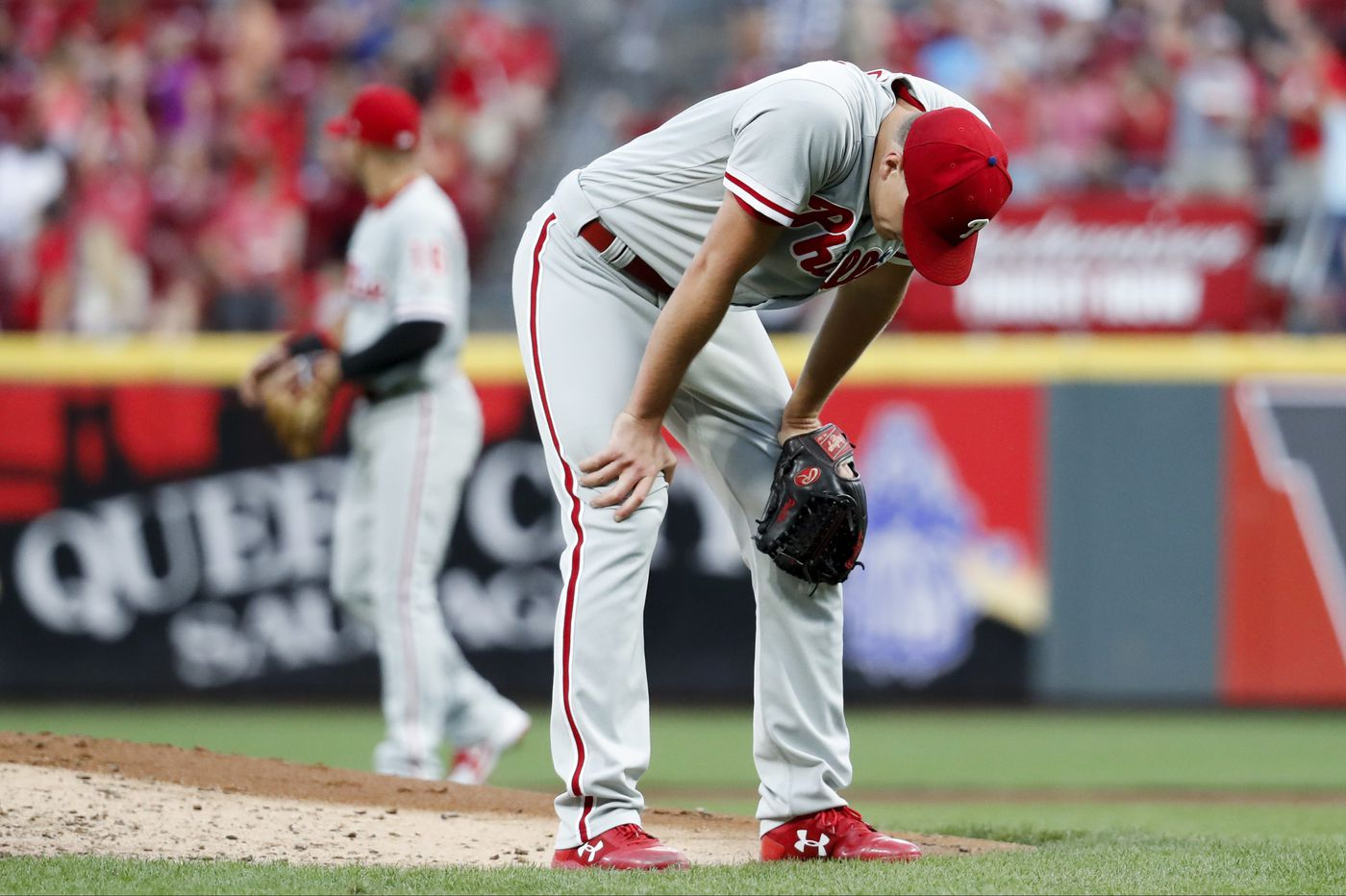 Nick Pivetta allows two homers in Phillies' loss to Reds