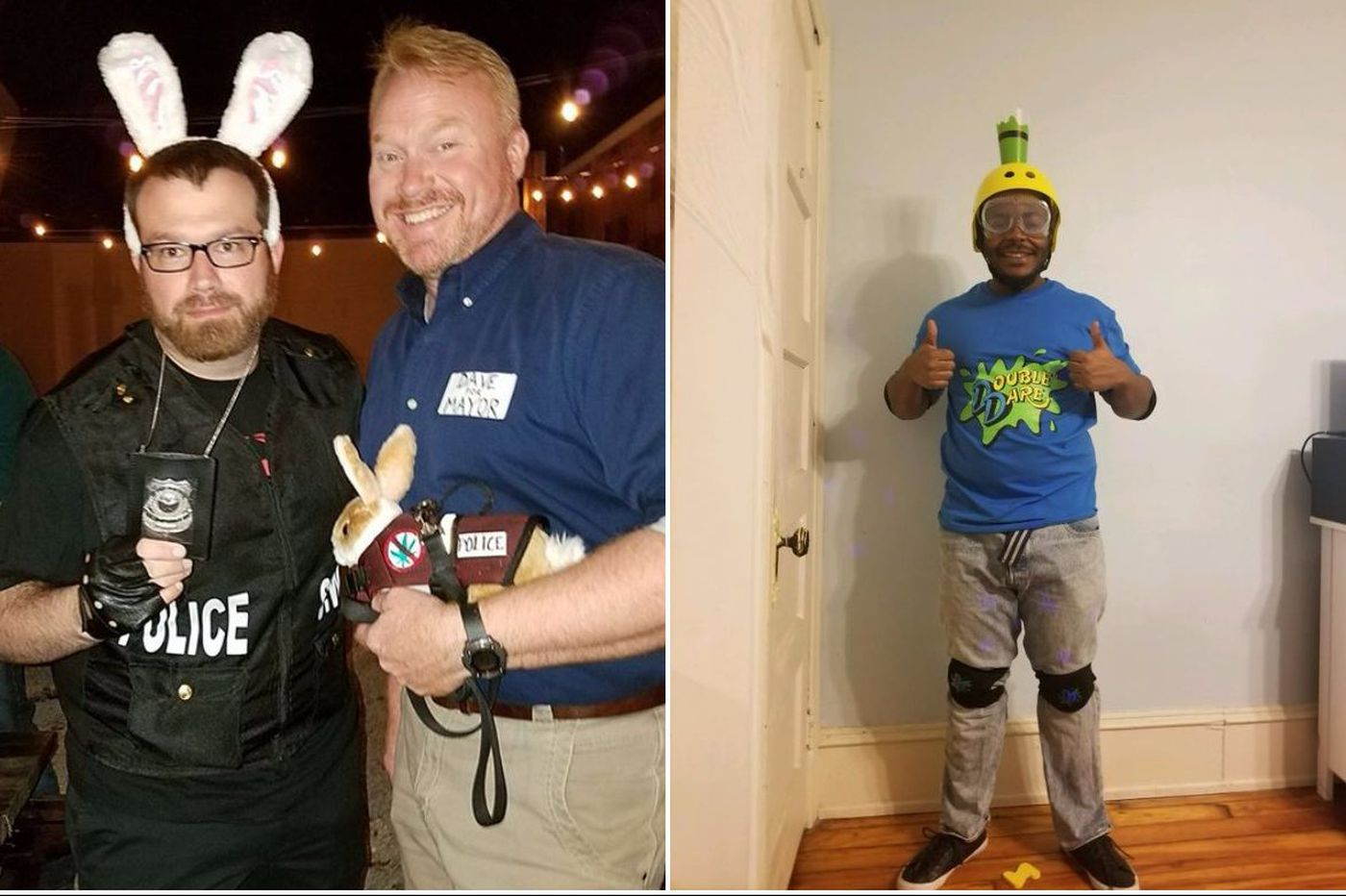 Drug-sniffing bunnies, beat-up Dallas fans and other Philly-inspired costumes