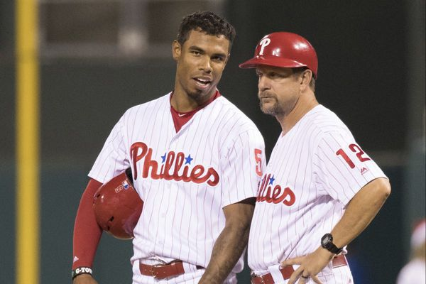 Phillies lag behind in stealing bases