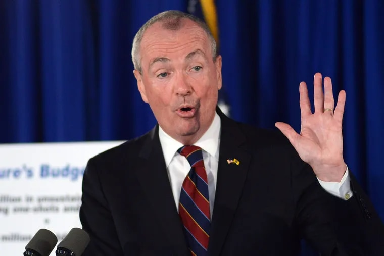 Gov. Murphy speaks in June about the shooting at the Trenton Arts Festival.