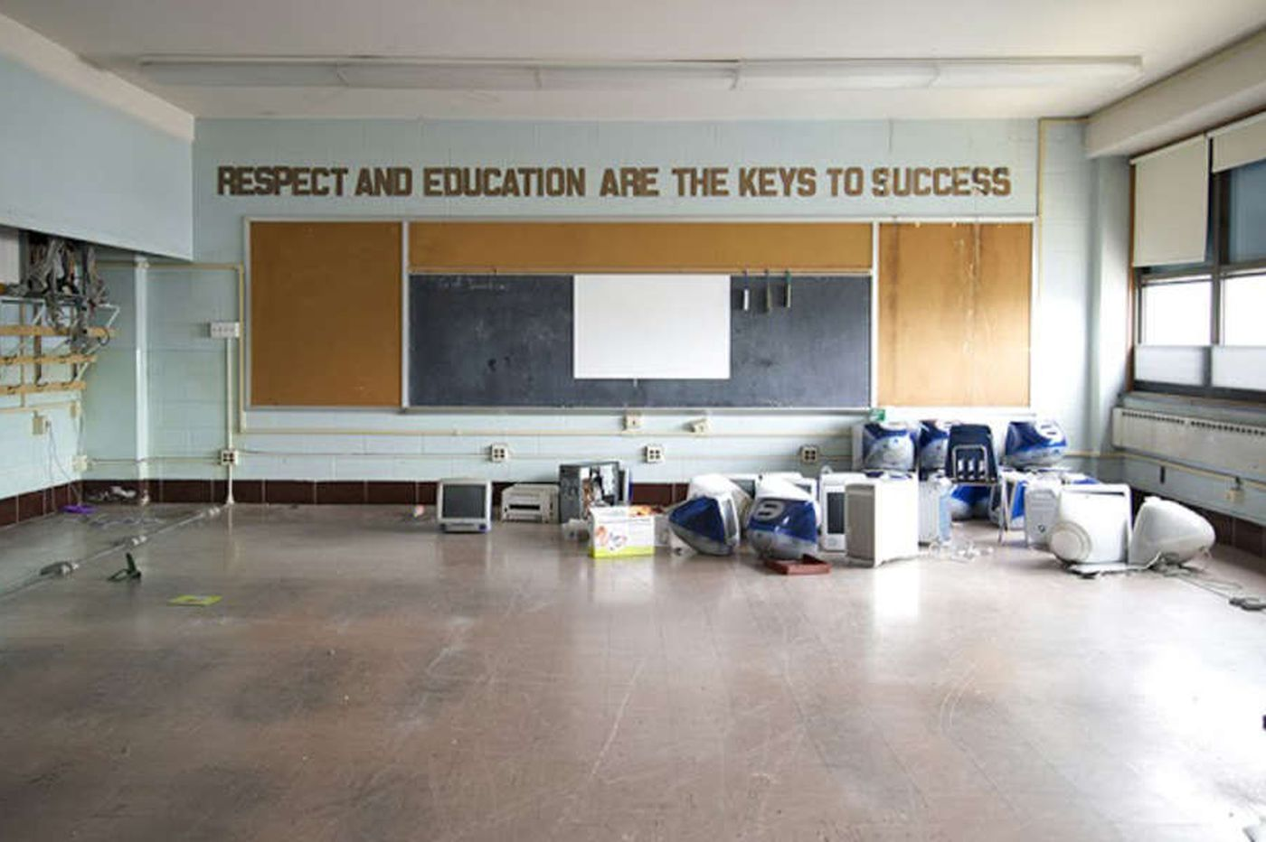 Jawnts: Glimpses into the shutdown of city schools