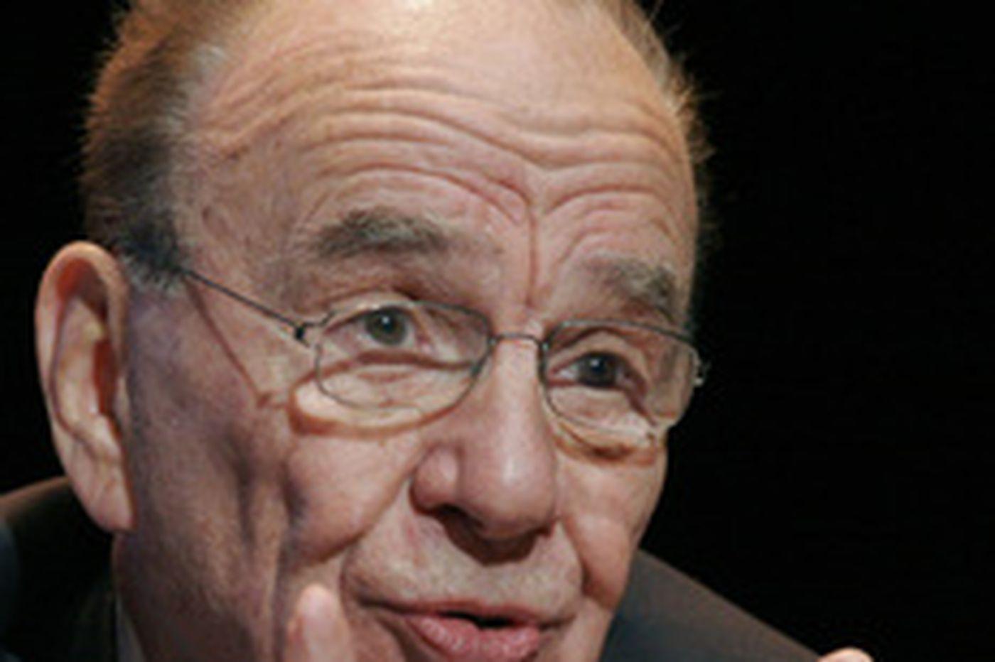 Murdoch eyes Dow Jones