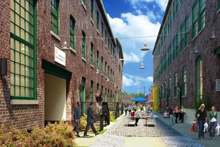 Rendering of Oxford Mills apartments, South Kensington. (Barton Partners)