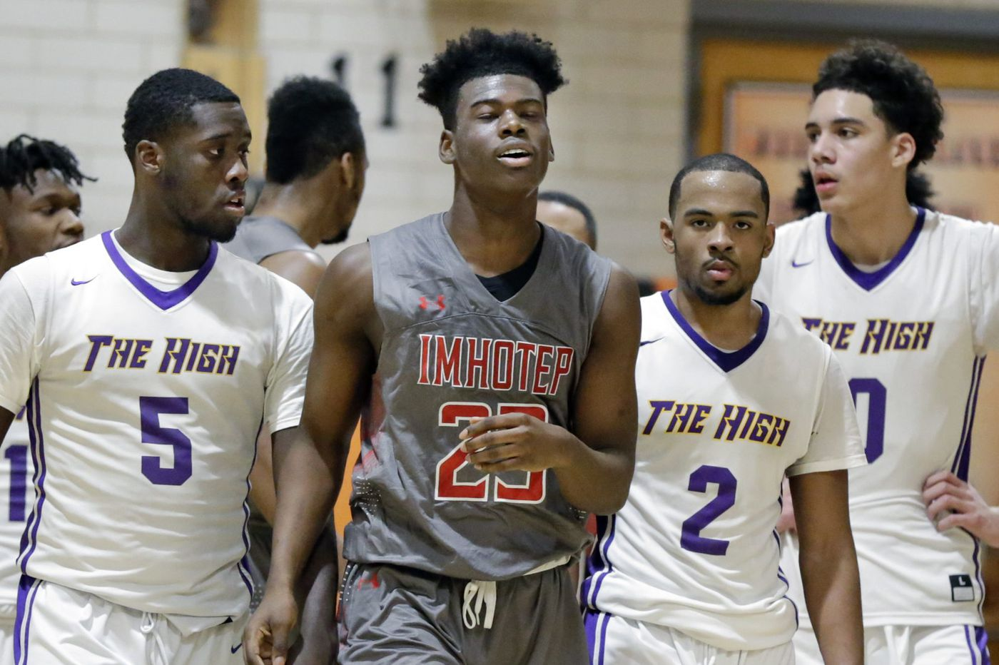 Imhotep Charter forward Jamil Riggins commits to Binghamton