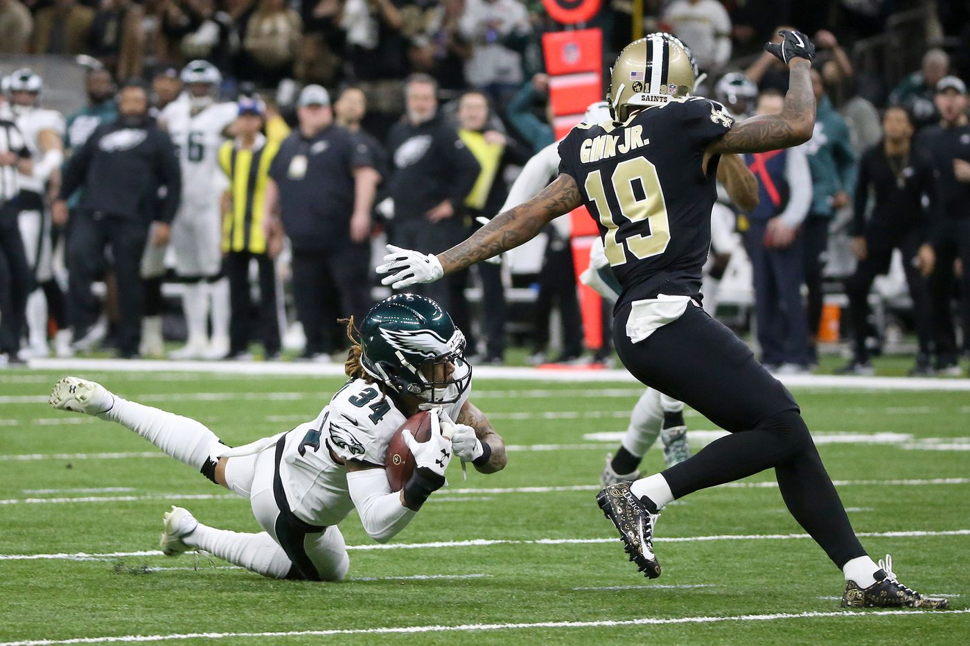 The Eagles lost to the Saints in the playoffs, but they had no business getting there in the first place | Marcus Hayes