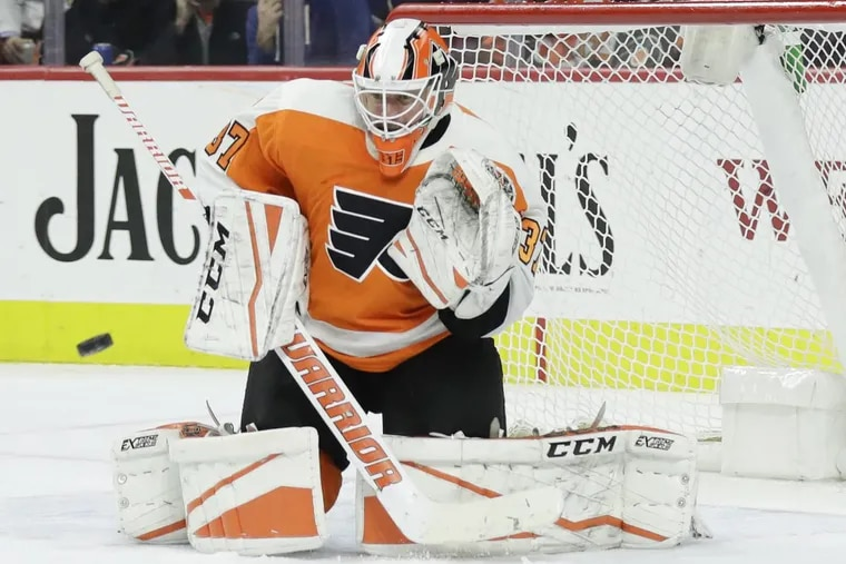 Flyers goaltender Brian Elliott feels refreshed.
