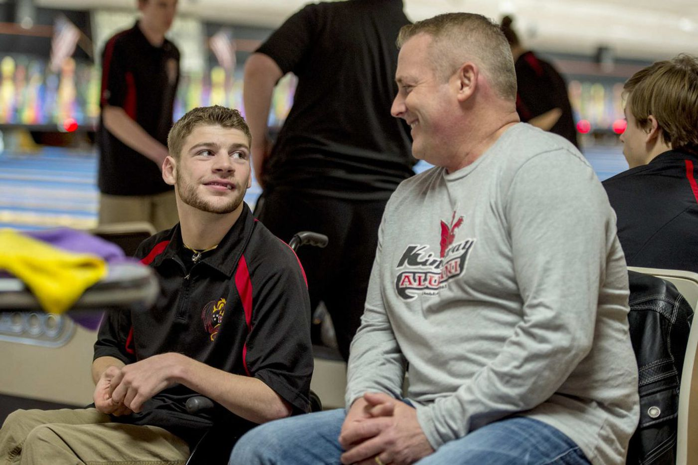 Born with half a heart, Kingsway bowler Josh Everwine inspires his school community