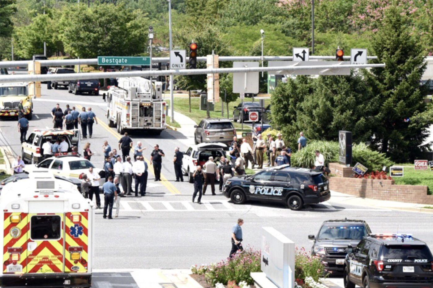 Annapolis shooting at Capital Gazette newspaper leaves 5 dead