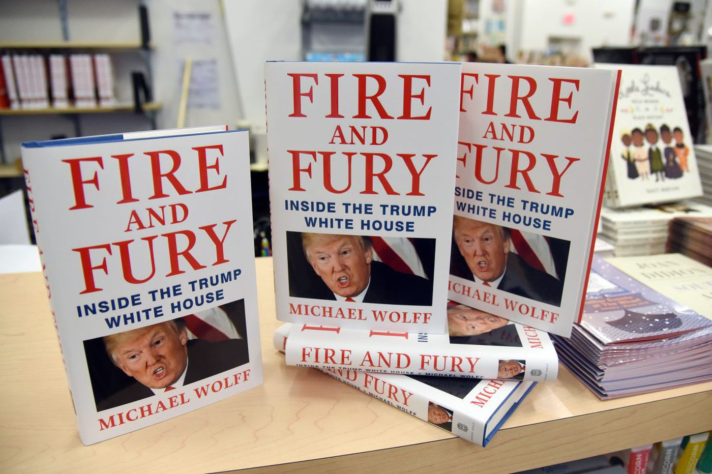 WikiLeaks shared the full 'Fire and Fury' book online