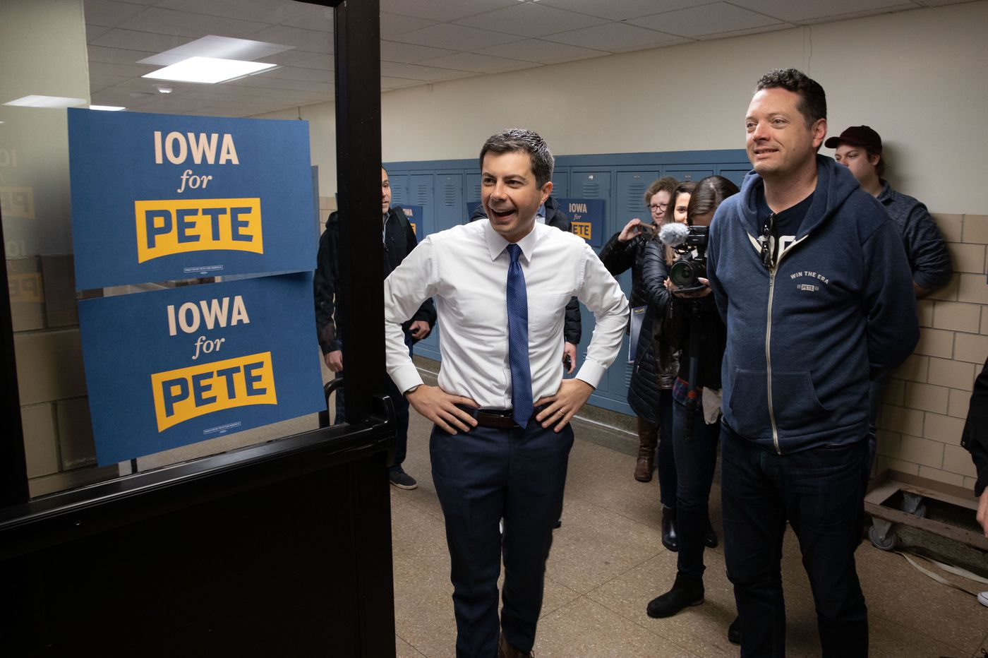 Iowa was a big boost for Pete Buttigieg. Meet the Philly guy behind his campaign.