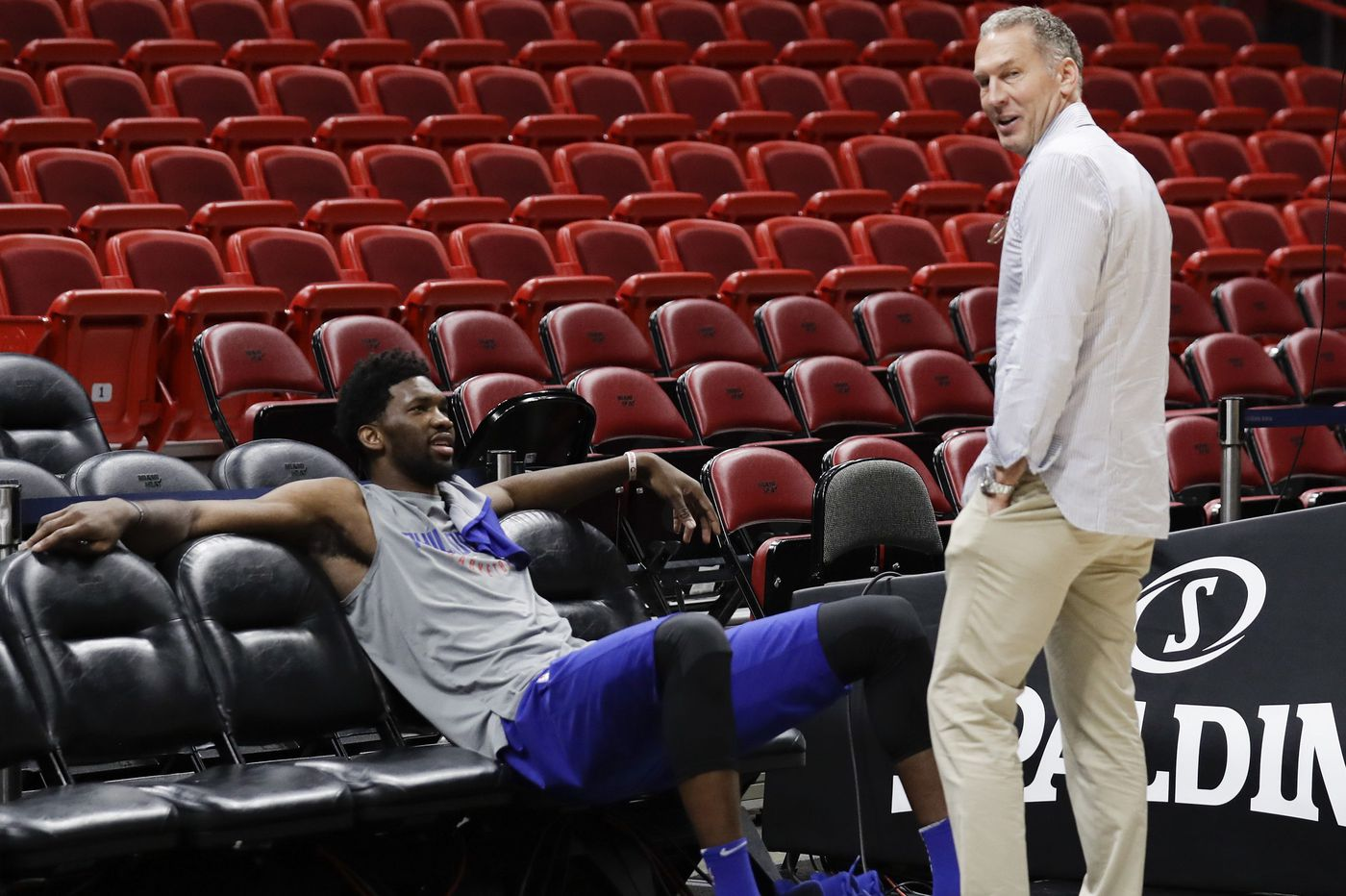 Joel Embiid says he learned how to shoot from 'random people' on YouTube