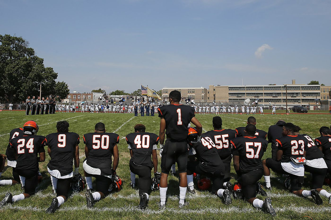 Camden coach: Why my players and I took a knee
