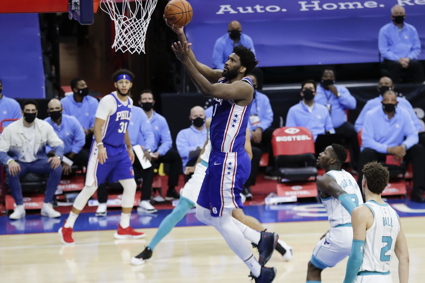 Quick takes from Sixers' 118-101 win over the Hornets