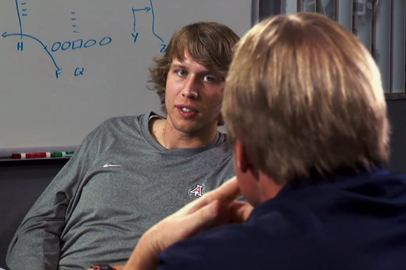 Nick Foles on Jon Gruden's 'QB Camp' in 2012: 'I'll make your team better'