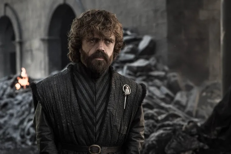 """Peter Dinklage as Tyrion Lannister in a scene from the May 19 series finale of HBO's """"Game of Thrones."""""""