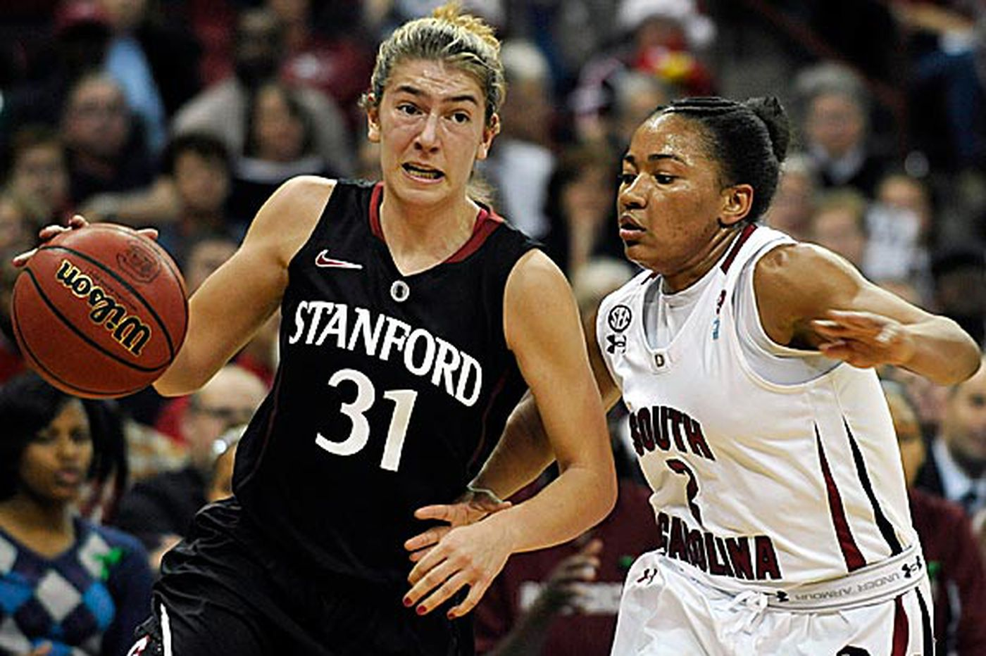 Women's College Basketball: No. 1 Stanford tips S. Carolina