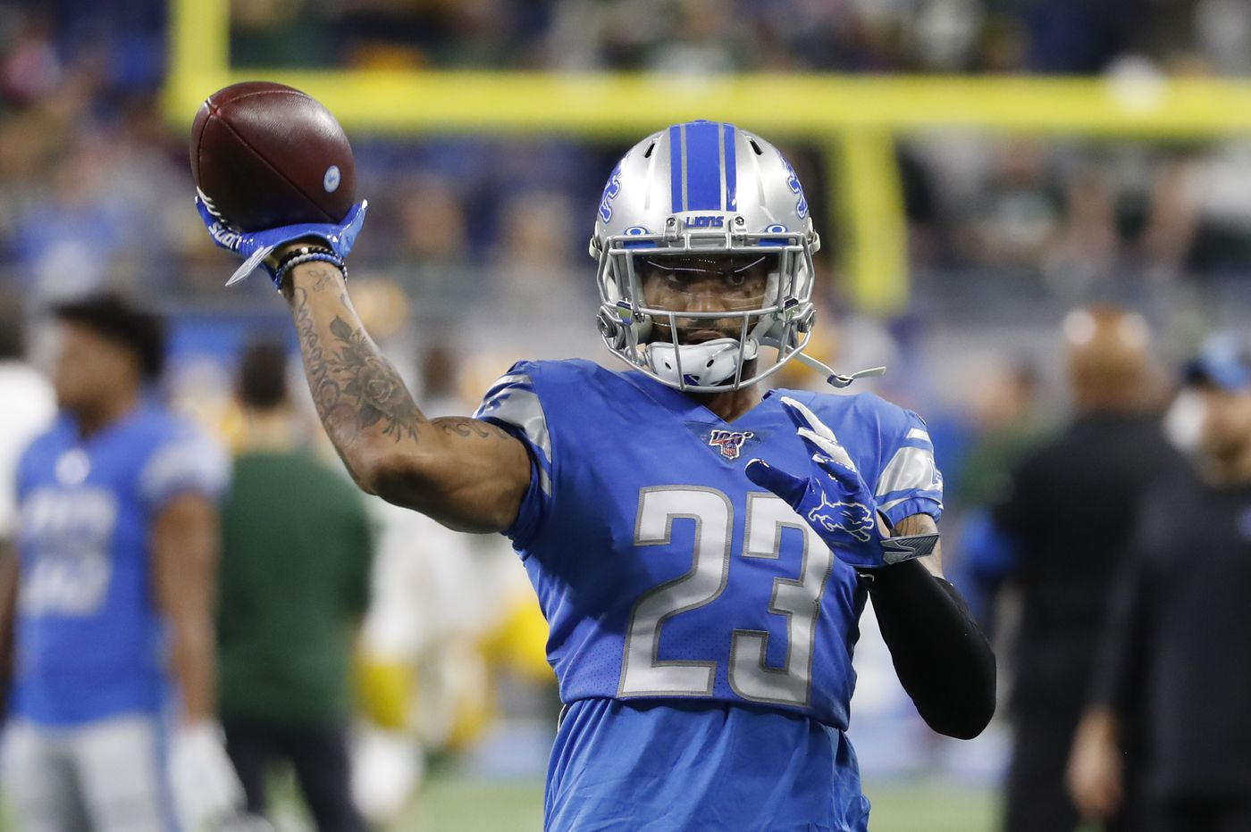 Eagles' Darius Slay happy to land in Philadelphia, even happier to leave Matt Patricia's Lions: 'I had to get out'