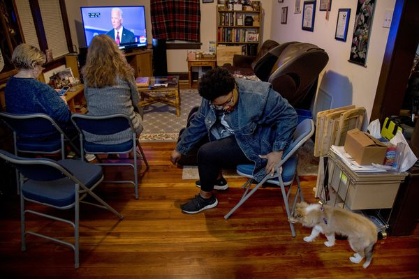 No one shows up to Joe Biden debate-watch parties in Philly. Does that matter?