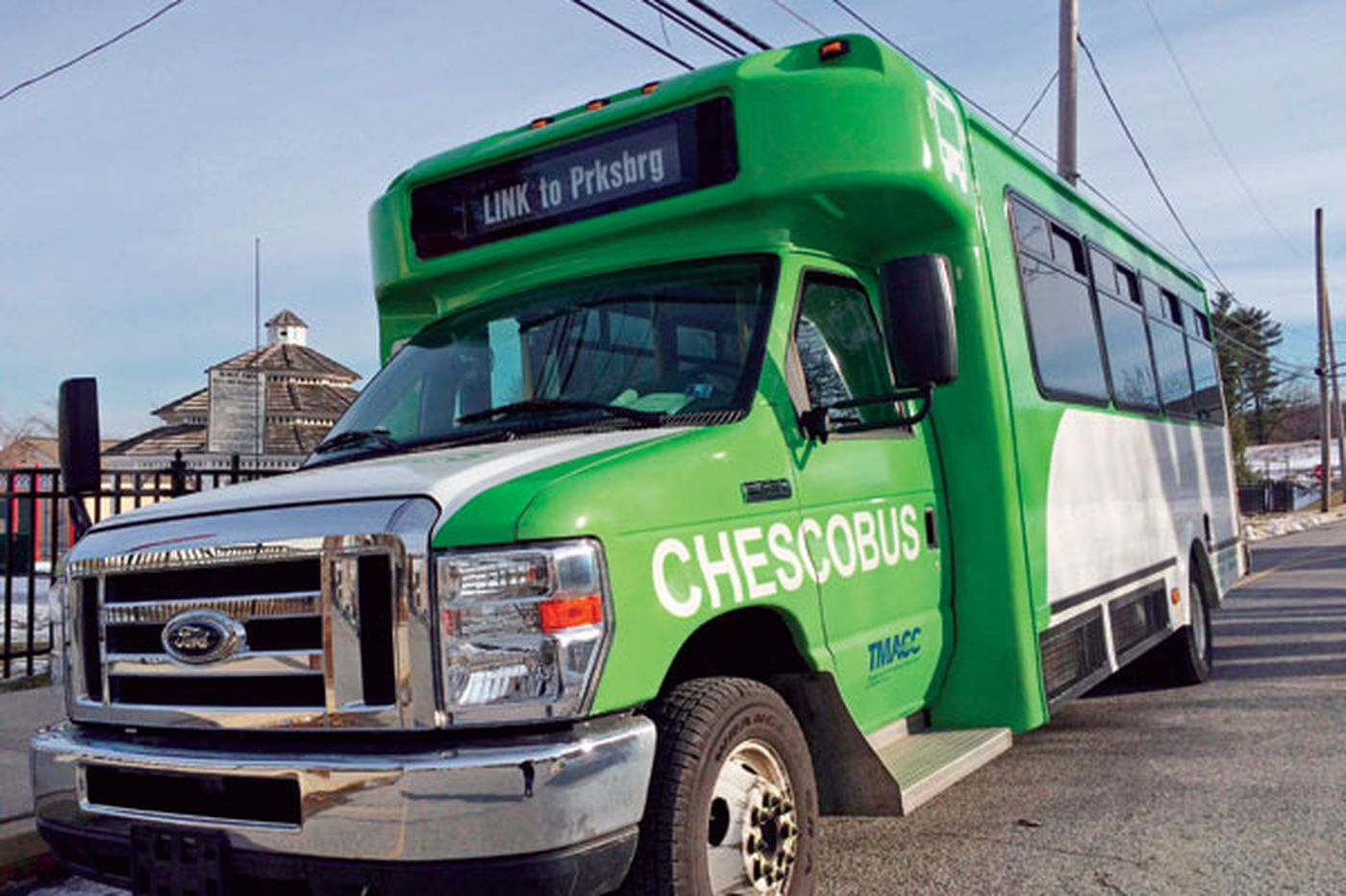 Chesco buses get makeover to attract more riders